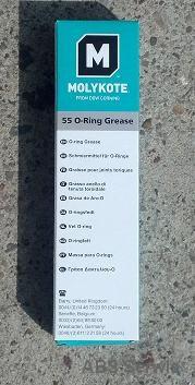 Smar silikonowy - Molykote 55 Oring
